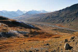 Таван-Богд-Уул над долиной Цаган-Гола - Монголия