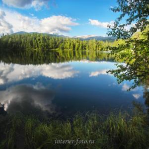 Озеро Ару-Кем в парке Уч-Энмек
