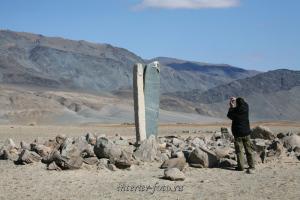 Каменные стелы в долине Цаган-Гола - Монголия