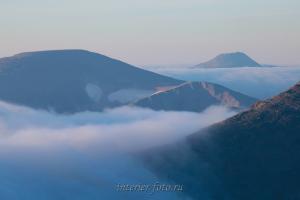Горы в облаках - Кузнецкий Алатау