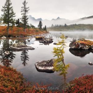 Озеро Круглое в Золотой долине