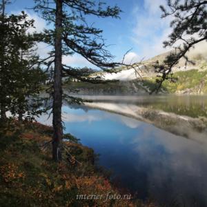 На озере Круглом - Поднебесные Зубья