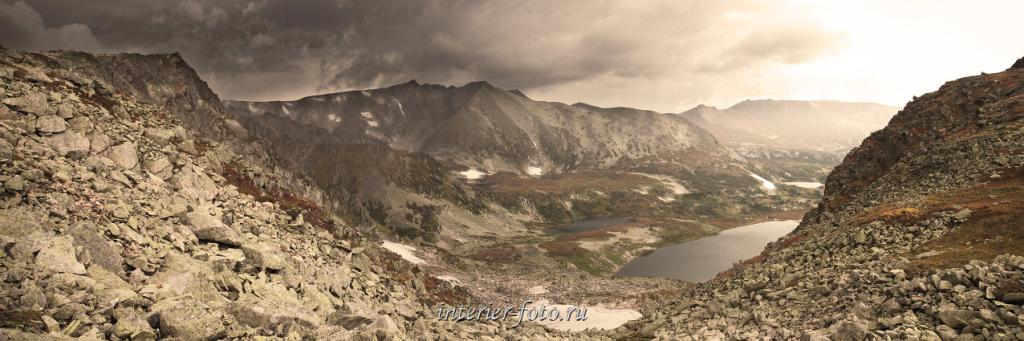 На спуске с перевала НГПИ в Золотую долину - Кузнецкий Алатау