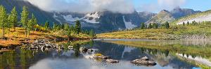 Озеро Круглое в Кузнецком Алатау