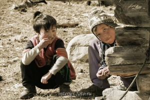 Дети Монголии