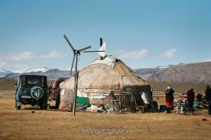 Юрта монгольских казахов