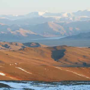 Просторы Монгольского Алтая