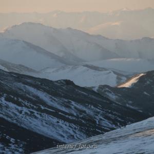 Зима пришла в Монголию