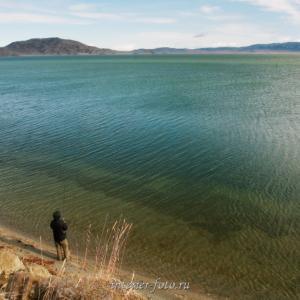 Рыбалка на озере Даян - Монголия