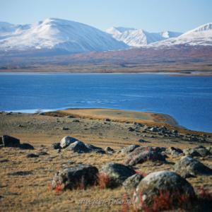 Озеро Хурган в Монгольском Алтае
