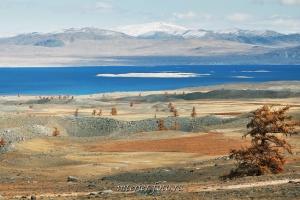 Озеро Хурган-Нуур в Монголии