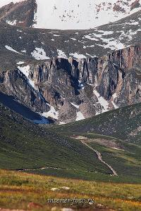 Дорога на перевал Теплый ключ