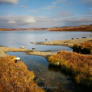 На озере Хиндиктиг-Холь в Туве