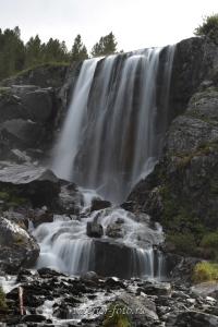 Водопады на Большом Кулагаше - Катунский хребет