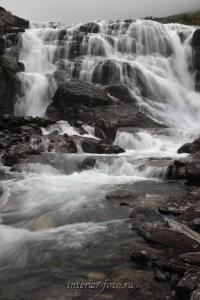Водопады на Большом Кулагаше