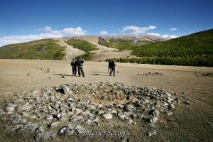 Курганы в долине Бугузуна