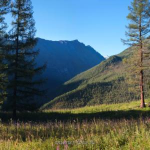Полка - над долиной Кулагаша