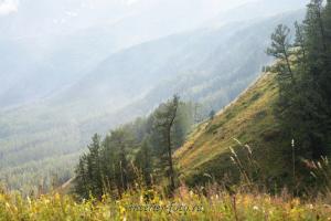 Долина Малого Кулагаша - вид с Полки