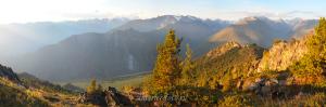 Вид с вершины 2478 - Катунский хребет