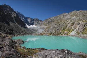 Озеро в висячей долине - Малый Кулагаш