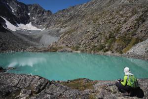 На озере - Кулагаш