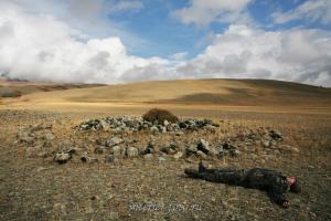 Курганы в долине Каргы