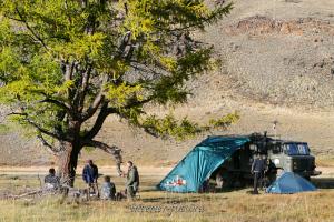 Наш лагерь на Каргы