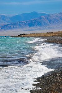Озеро Уурэг-Нуур в Монголии