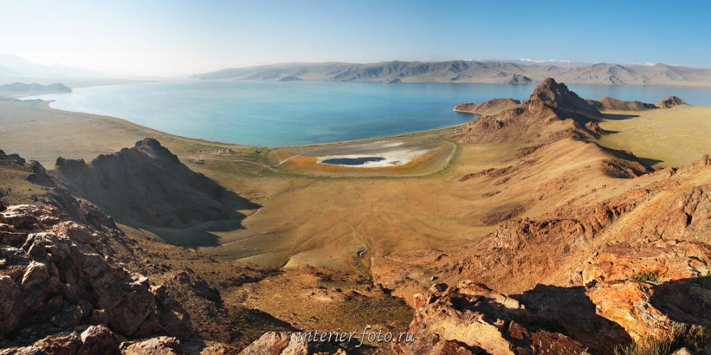 Панорама озера Толбо-Нуур