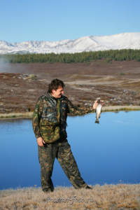 Рыбалка на озере Салду-Коль