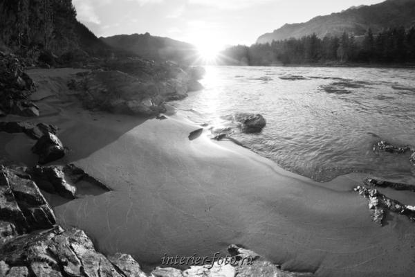 Закат на Катуни - Алтай