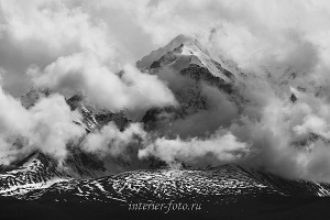 Вершины в облаках - Курай
