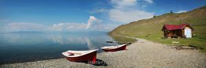 Панорама озера Хубсугул - Монголия