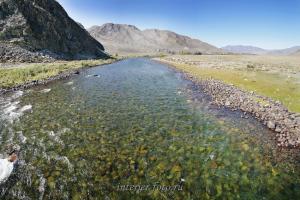 Река Алаш - Тува