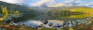 Стоктышское озеро осенью - Саяны