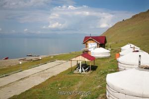На турбазе Край Земли - Монголия