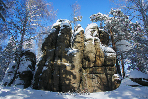 Скалы Четыре брата в Белокурихе