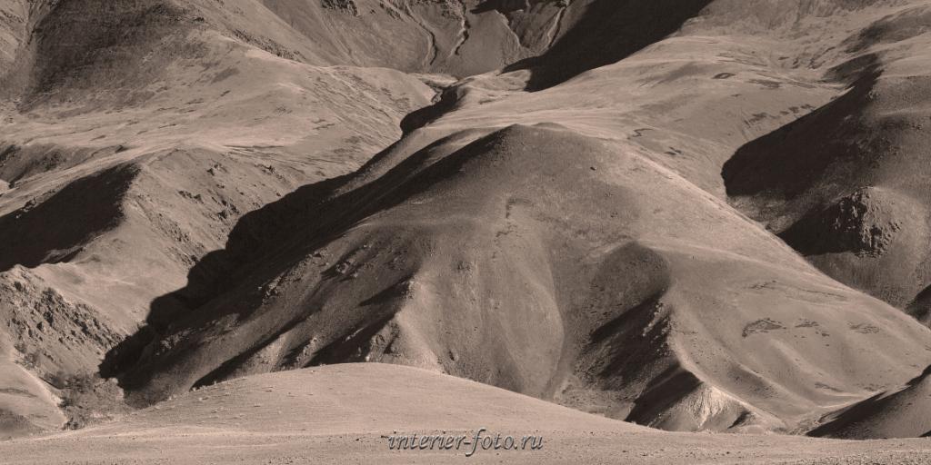 Панорамное фото в сепии