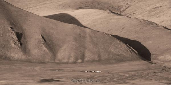 Фотографии Монголии в сепии