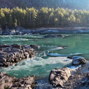 Бирюзовые воды Катуни