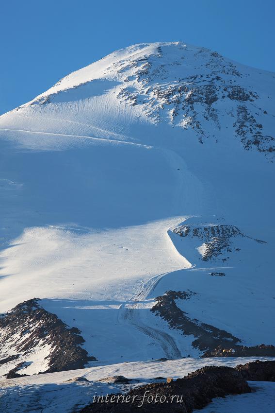 Путь к вершине Эльбруса