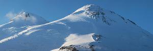 Вершины Эльбруса с Гарабаши