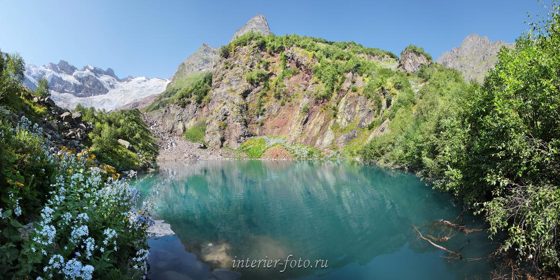 Панорама Турье озеро