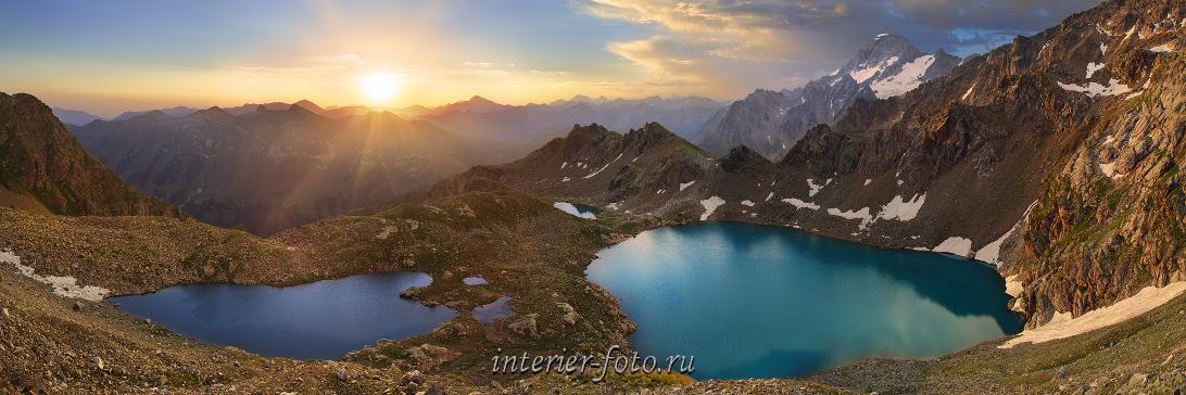 Рассвет Софийские озера