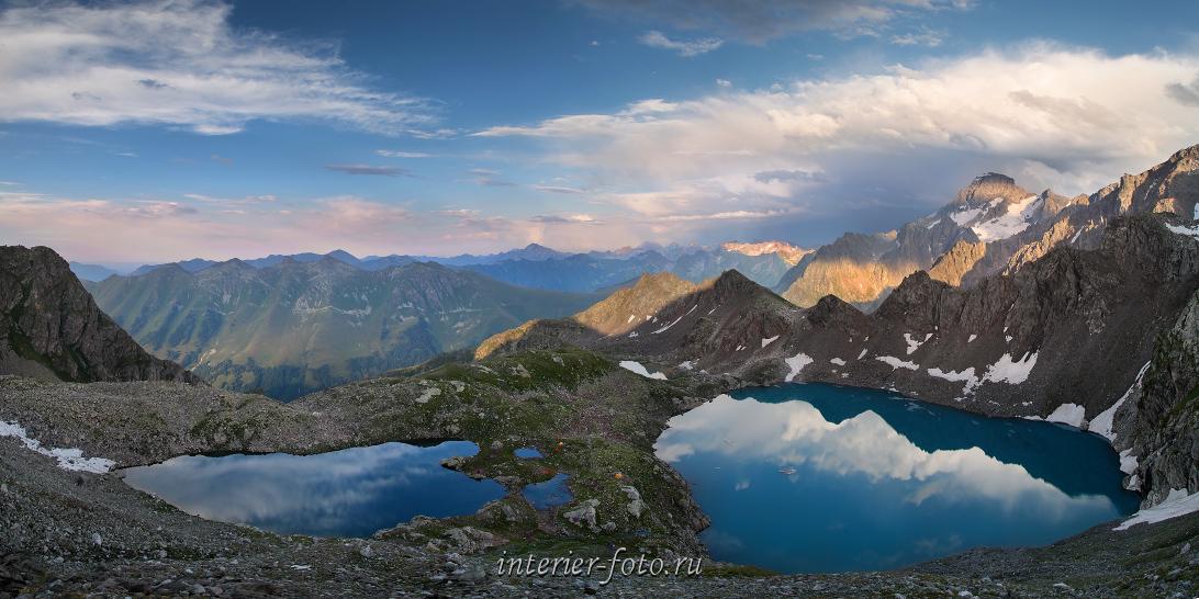Софийские озера на закате