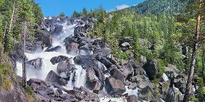 Панорама Чульчинского водопада