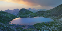 Закат на Софийских озерах