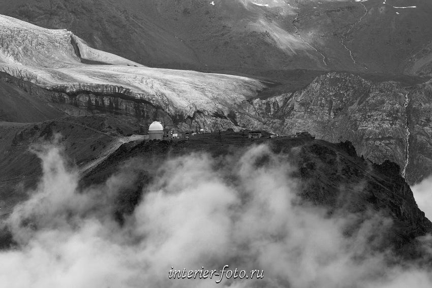 Обсерватория на склонах Эльбруса