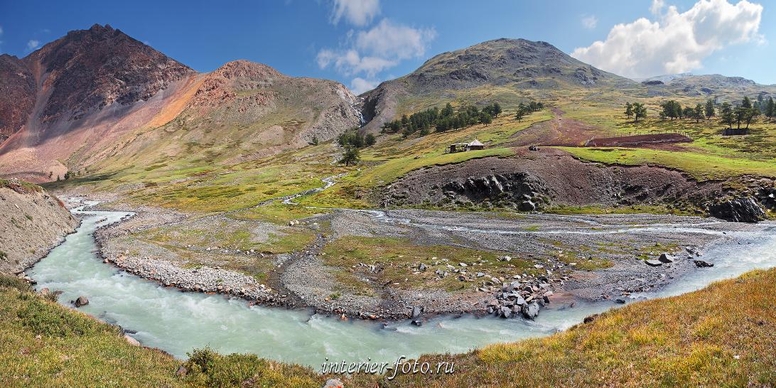 Стоянка в долине Джело