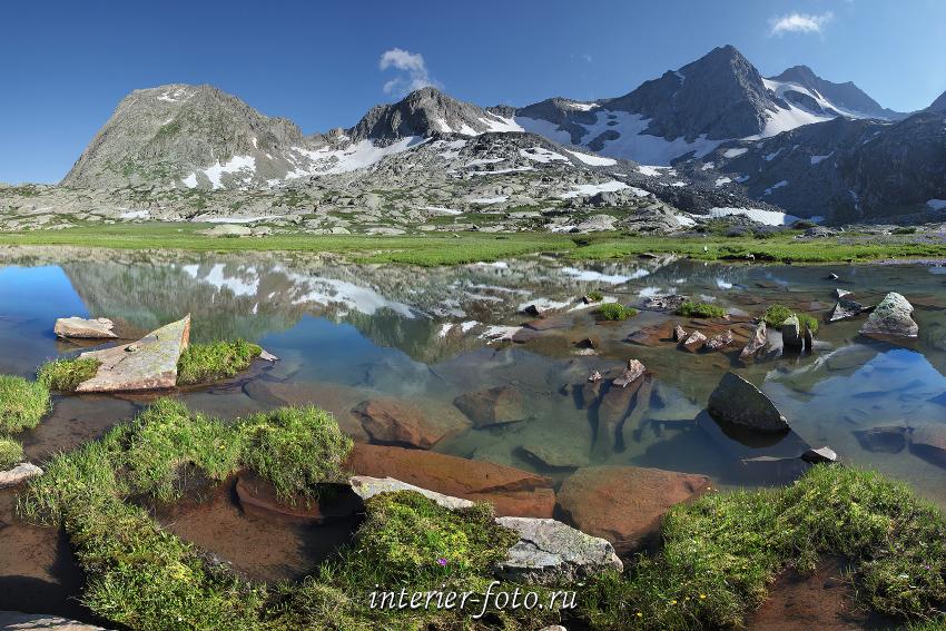 Озеро под перевалом Детский